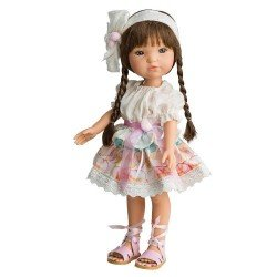 Muñeca Berjuán 35 cm - Boutique dolls - Fashion Girl Trenzas