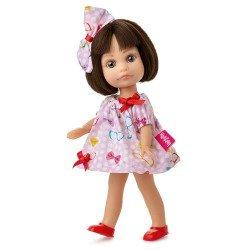 Muñeca Berjuán 22 cm - Boutique dolls - Luci con vestido de lacitos