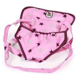 Portamuñecas - Bayer Chic 2000 - Estrellas frambuesa-rosa