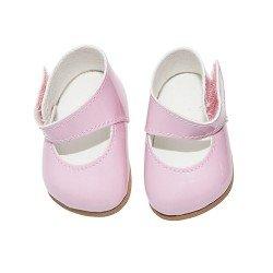 Complementos muñecas Así 36 a 40 cm - Zapatos merceditas rosa para muñecos Guille, Koke y Nelly