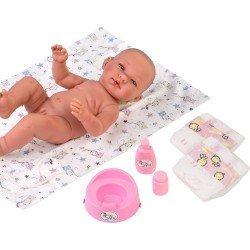Complementos muñecas Así 43 cm - Set cambiador de tela y accesorios