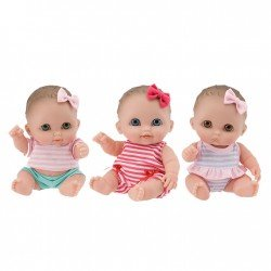 Muñecas Designed by Berenguer 21 cm - Lil' Cutesies - Set de Bibi, Lulu y Mimi