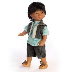 Muñeco D'Nenes 34 cm - Mario con camiseta de bicicletas