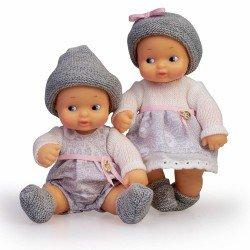 Muñeca Barriguitas Clásica 15 cm - Bebés gemelos