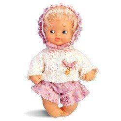 Muñeca Barriguitas Clásica 15 cm - Bebé niña rubia con jersey