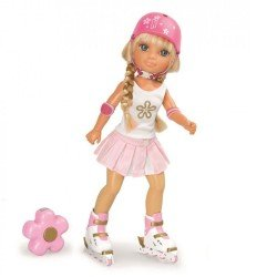 Muñeca Nancy 43 cm - Un día patinando en California