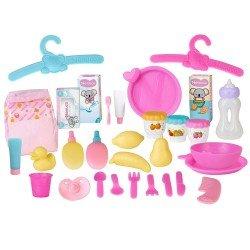 Complementos para muñecos Nenuco - Mega pack de accesorios