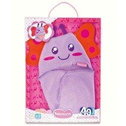 Ropa para muñecos Nenuco 35 cm - Momentos del día - Capa de baño mariposa