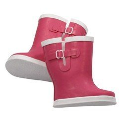 Complementos para muñeca Götz 42-50 cm - Botas de goma rosas