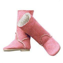 Complementos para muñeca Götz 42-50 cm - Botas de invierno rosas
