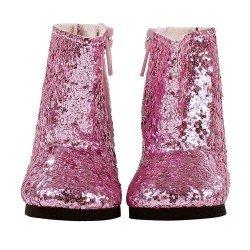 Complementos para muñeca Götz 42-50 cm - Botas rosas brillantes