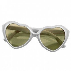 Complementos para muñeca Götz 45-50 cm - Gafas de sol con montura de corazón gris