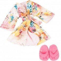 Ropa para muñeca Götz 45-50 cm - Kimono de baño