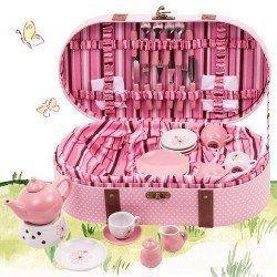 Complementos para muñeca Götz 45-50 cm - Set para hacer picnic