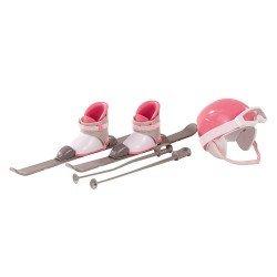 Complementos para muñeca Götz 45-50 cm - Set para esquiar