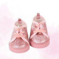 Complementos para muñeca Götz 42-50 cm - Zapatillas Glitter