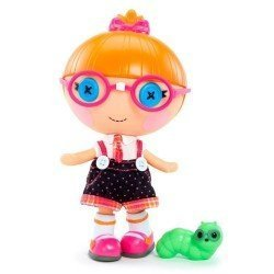 Muñeca Lalaloopsy Little 18 cm - Little Specs Reads-a-lot