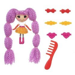 Muñeca Lalaloopsy 7.5 cm - Mini Lalaloopsy Loopy Hair - Peanut Big Top