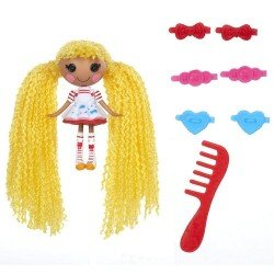 Muñeca Lalaloopsy 7.5 cm - Mini Lalaloopsy Loopy Hair - Spot Splatter Splash
