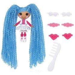 Muñeca Lalaloopsy 7.5 cm - Mini Lalaloopsy Loopy Hair - Mittens Fluff 'N' Stuff