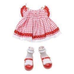 Ropa para muñecas Lalaloopsy 31 cm - Vestido de fiesta cuadrados
