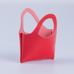 Complementos para muñecas Mariquita Pérez 50 cm - Bolso rojo