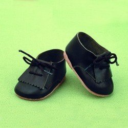 Complementos para muñecos Juanín Pérez 50 cm - Zapatos piel negro