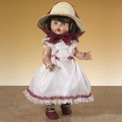 Muñeca Mariquita Pérez 50 cm - Con vestido escarlata