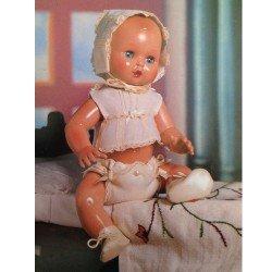Muñeco Juanín Bebé 40 cm - Con ropa interior de bautizo