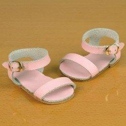 Complementos para muñecas Mariquita Pérez 50 cm - Sandalias rosa
