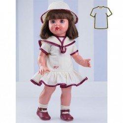 Ropa para muñeca Mariquita Pérez 50 cm - Vestido época
