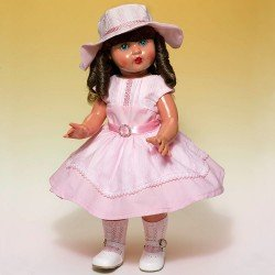 Muñeca Mariquita Pérez 50 cm - Con vestido rosa