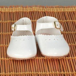Complementos para muñecas Mariquita Pérez 50 cm - Zapatos charol blanco