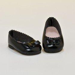 Complementos para muñeca Mariquita Pérez 50 cm - Manoletinas negras