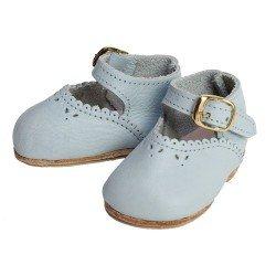 Complementos para muñecas Mariquita Pérez 50 cm - Zapatos piel celeste
