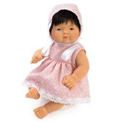 Muñeca Así 36 cm - Chinín con jesusito de estrellas rosa