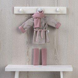 Ropa para Muñecas Así 40 cm - Gabardina, bufanda y leggins para muñeca Sabrina