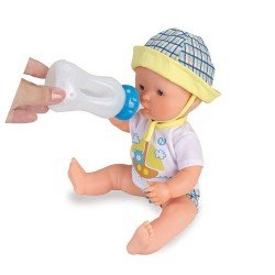 Muñeco Nenuco 35 cm - Bebe y hace pipí, azul