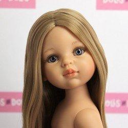 Muñeca Paola Reina 32 cm - Las Amigas - Carla con pelo extralargo sin ropaMuñeca Paola Reina 32 cm - Las Amigas - Carla con pelo extralargo sin ropa