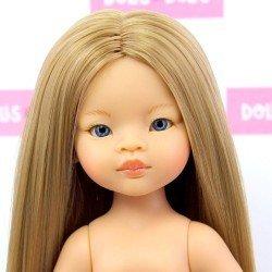 Muñeca Paola Reina 32 cm - Las Amigas - Liu con pelo extralargo sin ropa
