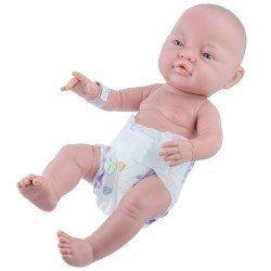 Muñeco Paola Reina 45 cm - Bebito recién nacido con pañal