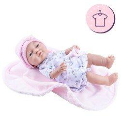Ropa para muñecas Paola Reina 45 cm - Bebitos - Conjunto perritos con mantita