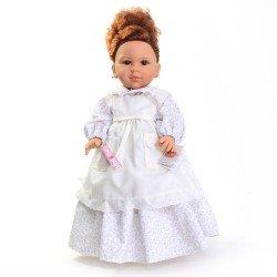 Muñeca Paola Reina 42 cm - Doloretes con vestido blanco (El Secreto de Puente Viejo)