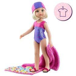 Ropa para muñecas Paola Reina 32 cm - Las Amigas - Conjunto Claudia Nadadora