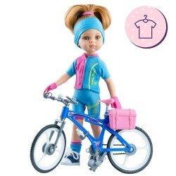 Ropa para muñecas Paola Reina 32 cm - Las Amigas - Conjunto Dasha Ciclista