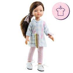 Ropa para muñecas Paola Reina 32 cm - Las Amigas - Conjunto Liu Costurera