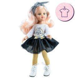 """Ropa para muñecas Paola Reina 32 cm - Las Amigas - Conjunto Nieves """"Little Princess"""""""