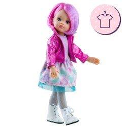 Ropa para muñecas Paola Reina 32 cm - Las Amigas - Conjunto Noelia de corazones