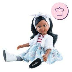 Ropa para muñecas Paola Reina 32 cm - Las Amigas - Conjunto Nora de ositos