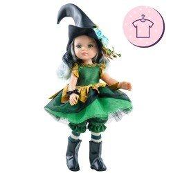 Ropa para muñecas Paola Reina 32 cm - Las Amigas - Vestido Brujita Abigail